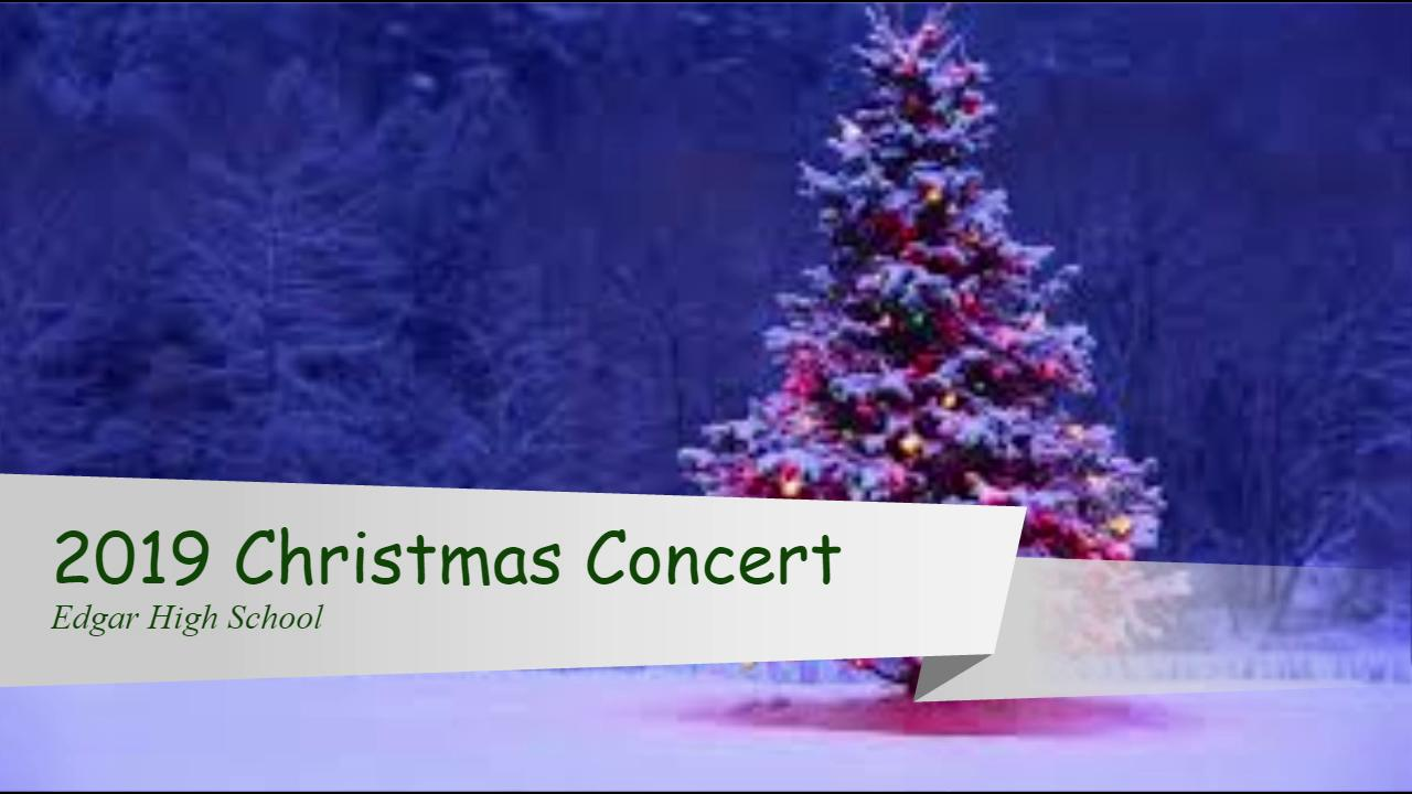 2019 HS Christmas Concert