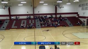 WIAA GBB Regional-Wisconsin Valley Lutheran at Loy...