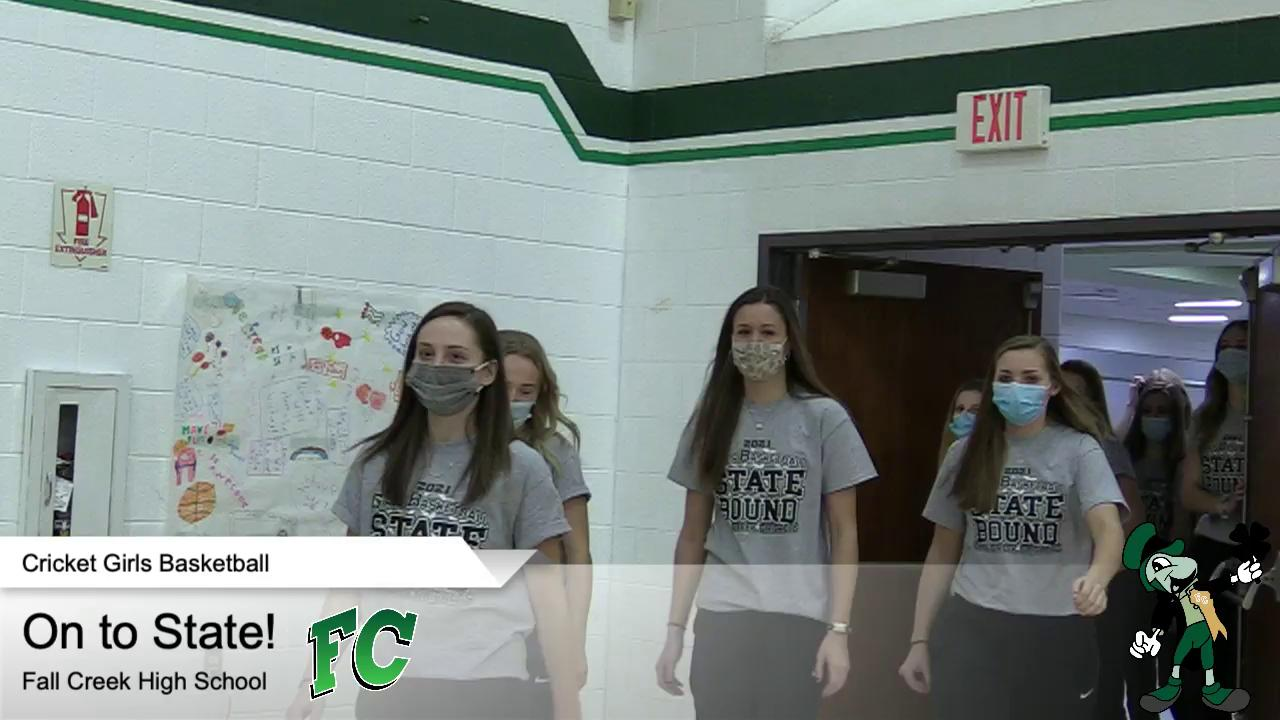 Cricket TV - Girls Basketball Send off to State (C...