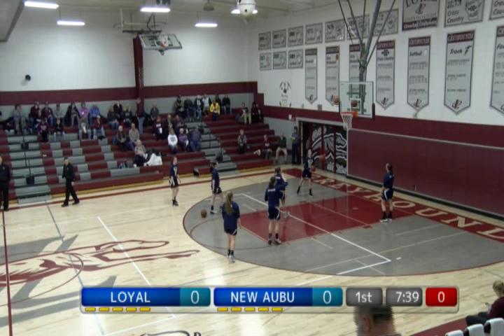 WIAA GBB New Auburn at Loyal
