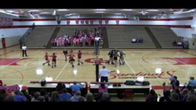Chi Hi Volleyball vs Hudson 10.08.15