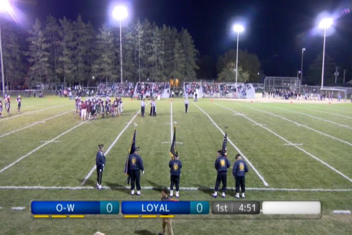 FB WIAA Playoff Level 1 Owen-Withee at Loyal