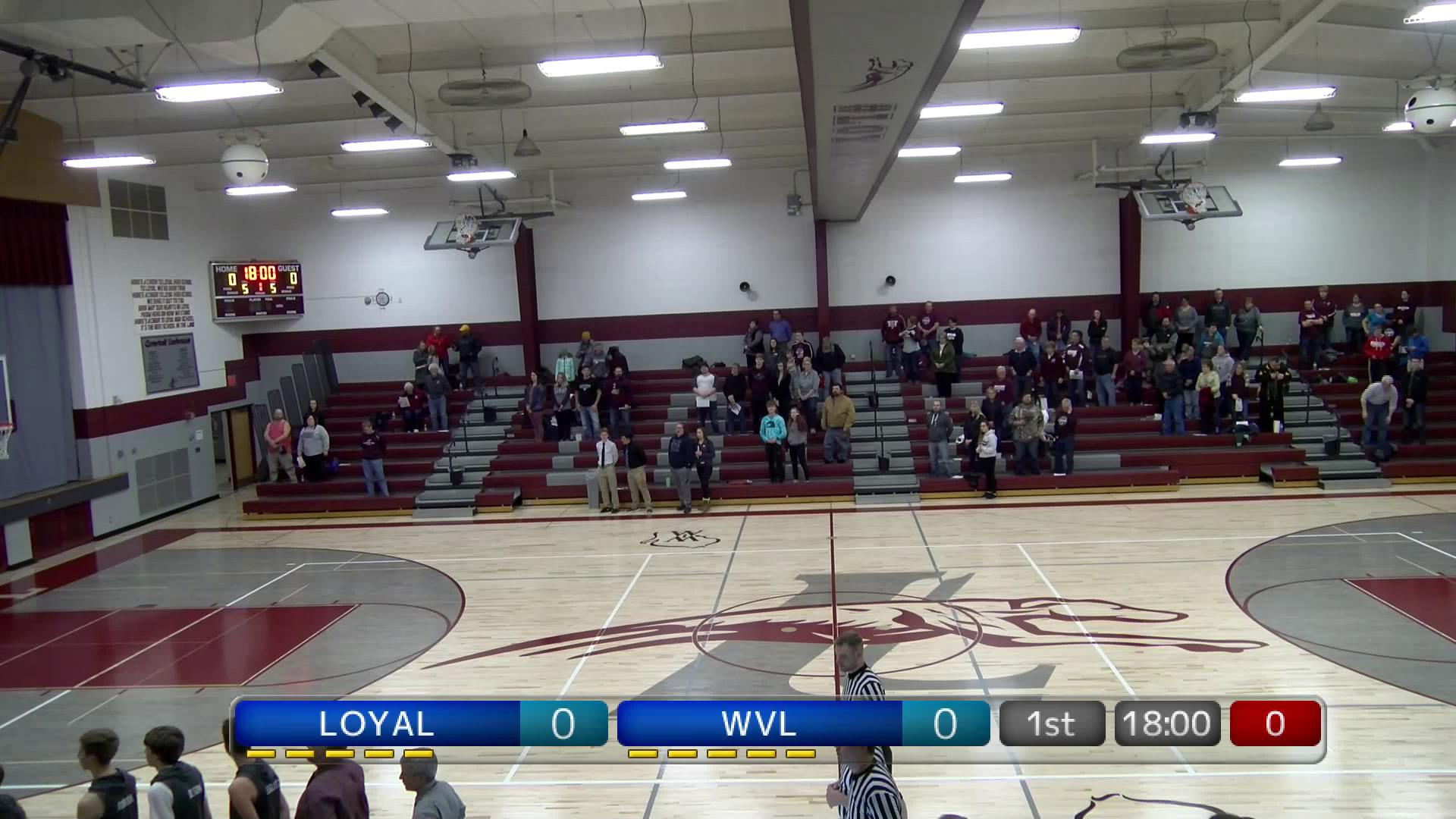BBB-Wisconsin Valley Lutheran at Loyal