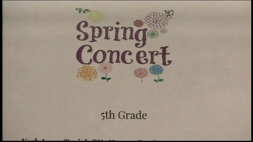 5th Grade Spring Concert (Clip)