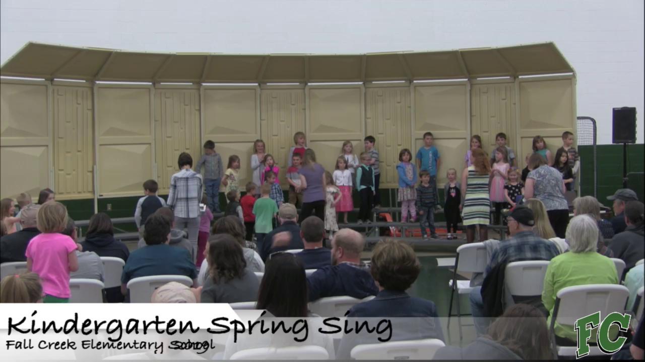 Kindergarten Spring Sing 2019