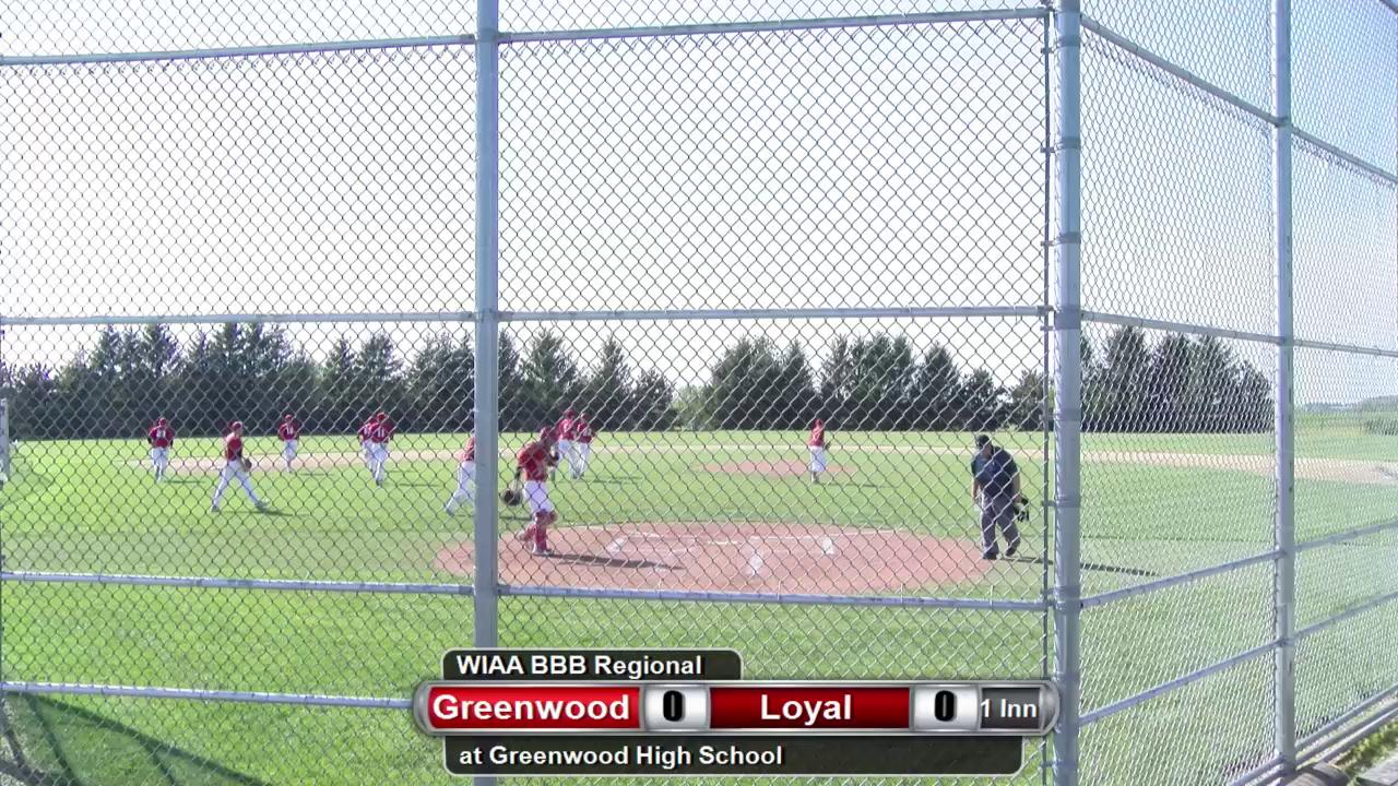 WIAA Baseball Regional Final Game Part 1