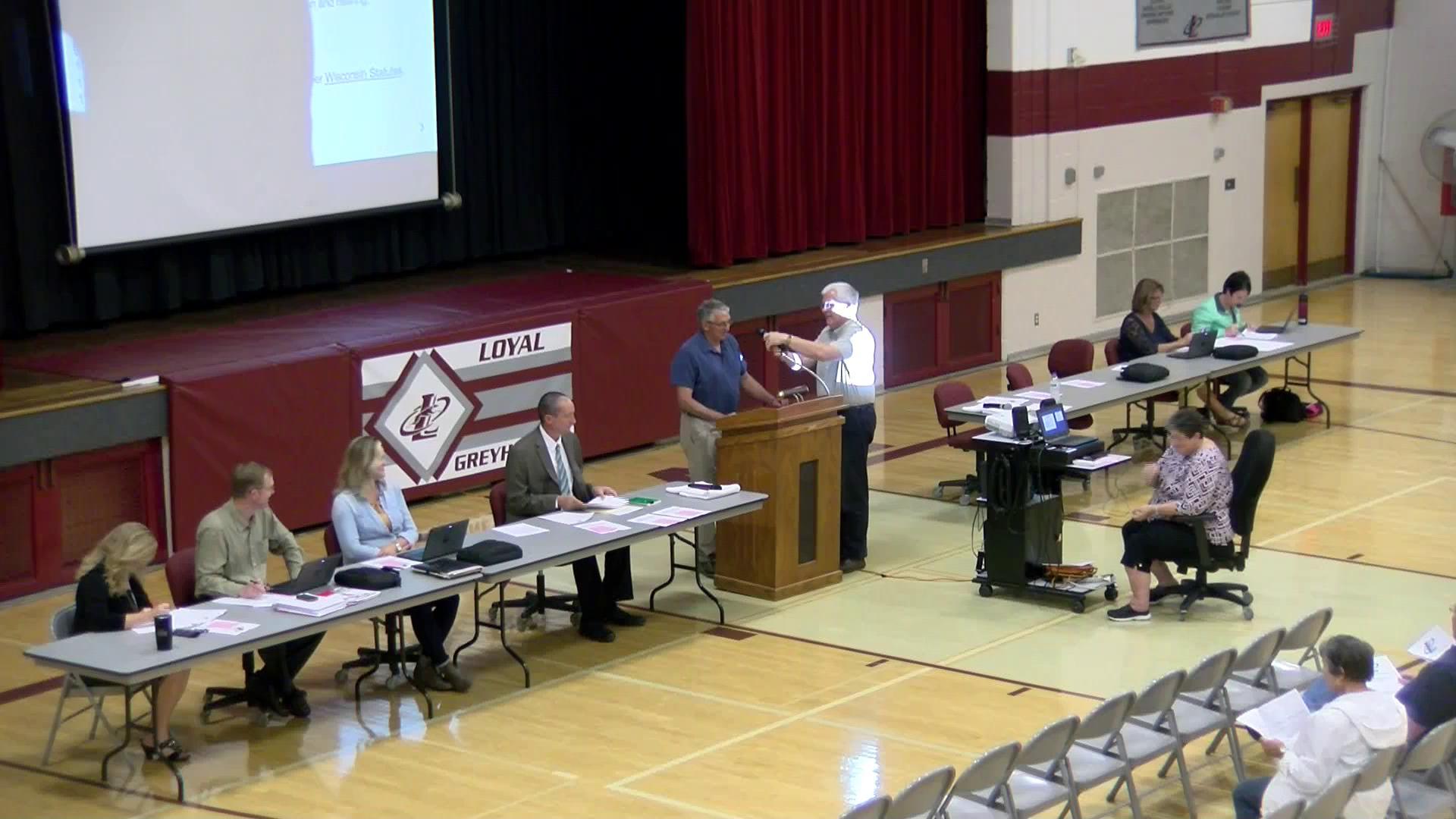 Loyal School Board Annual Meeting