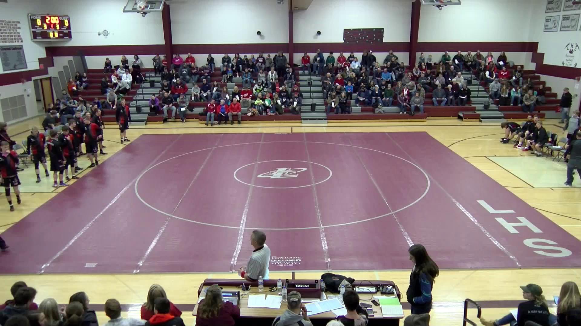Wrestling Abby/Colby vs NGL