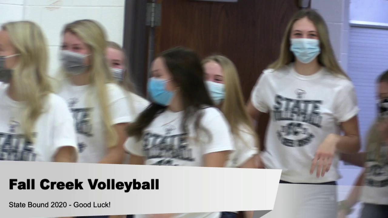 Volleyball Send Off to State (clip)