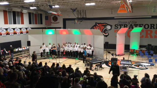 2018 Stratford MS Christmas Program