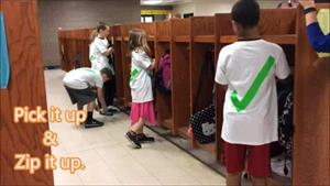 Parkview Pride in the Lockers
