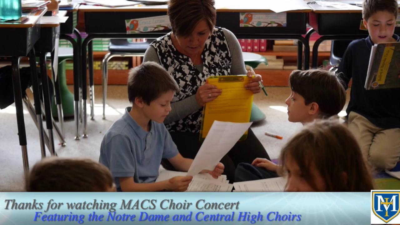 MACS Choral Concert: Journeys