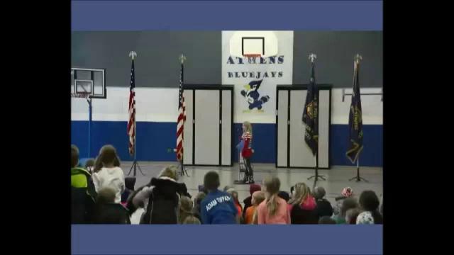 Athens Elementary School's Veteran Day Program