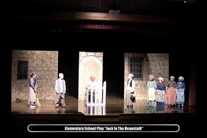 Elementary School play Jack and the Beanstalk