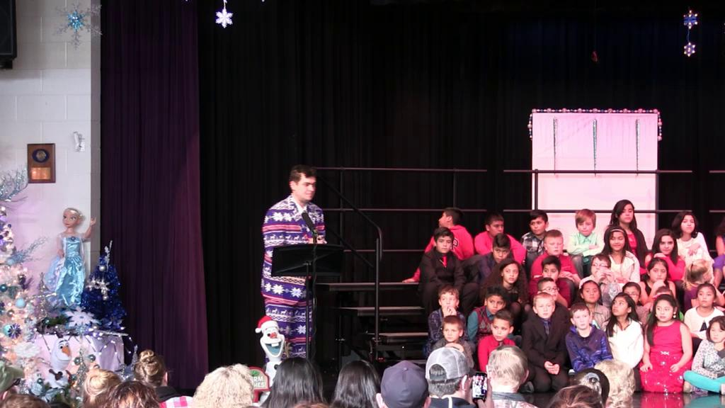 Grades 2-5 2017 Christmas Concert Afternoon