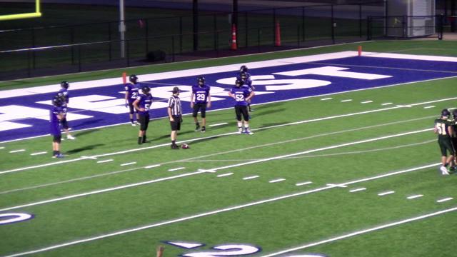 Last Couple Minutes MS Football vs WB 9/24