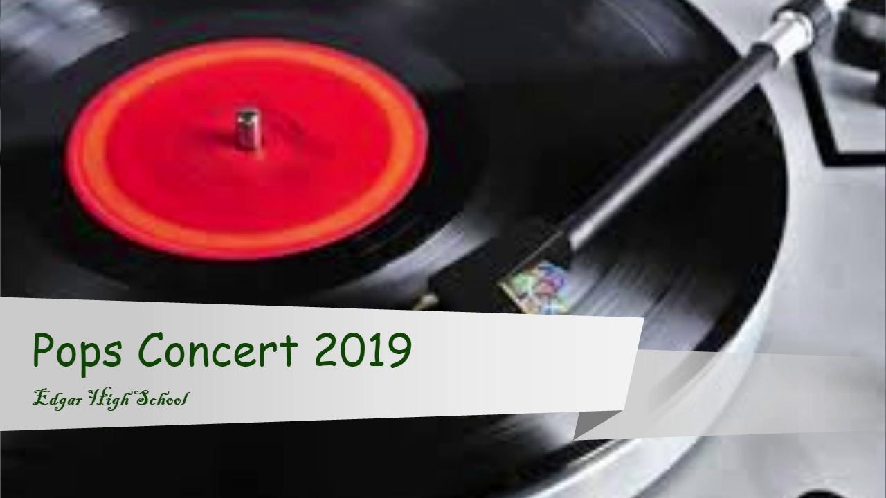 2019 Pops Concert