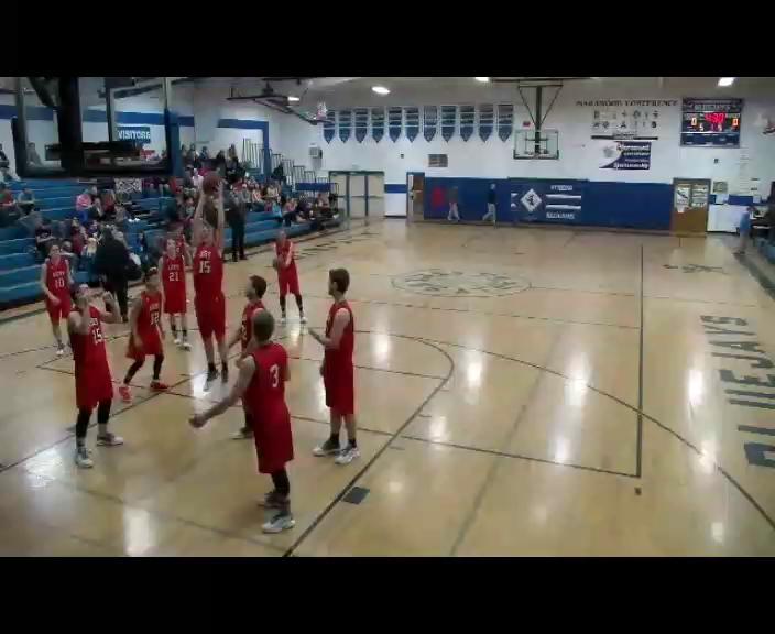 Boys Basketball VS Abbotsford