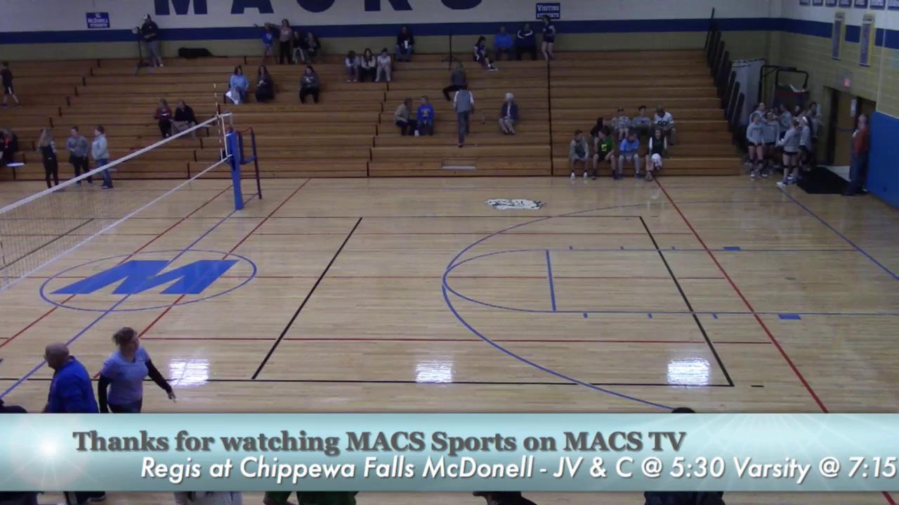 Conference Championship - Regis vs MACS Volleyball...