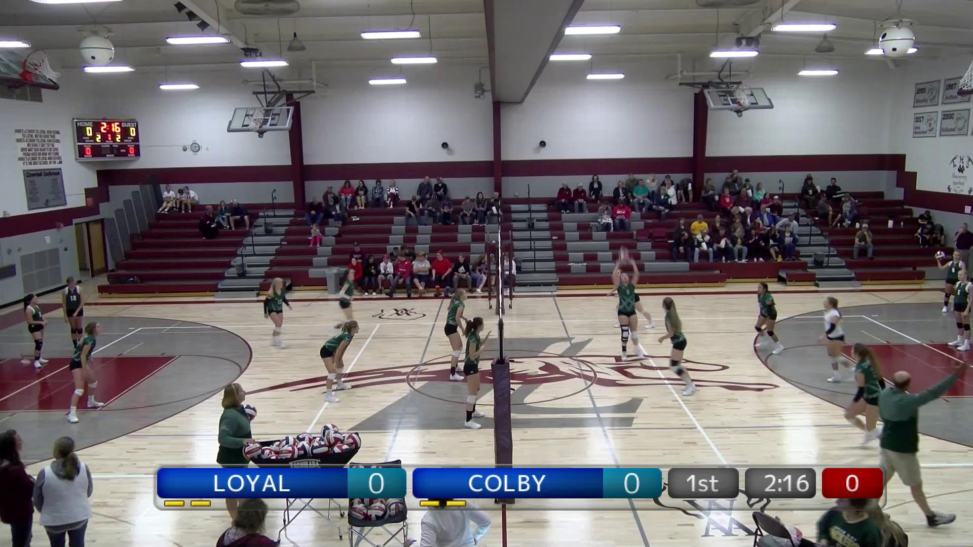 VB Colby at Loyal