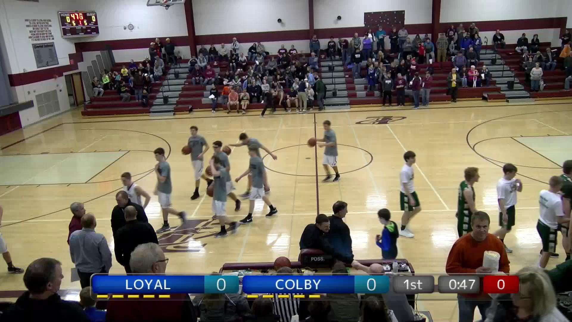 BBB Colby at Loyal