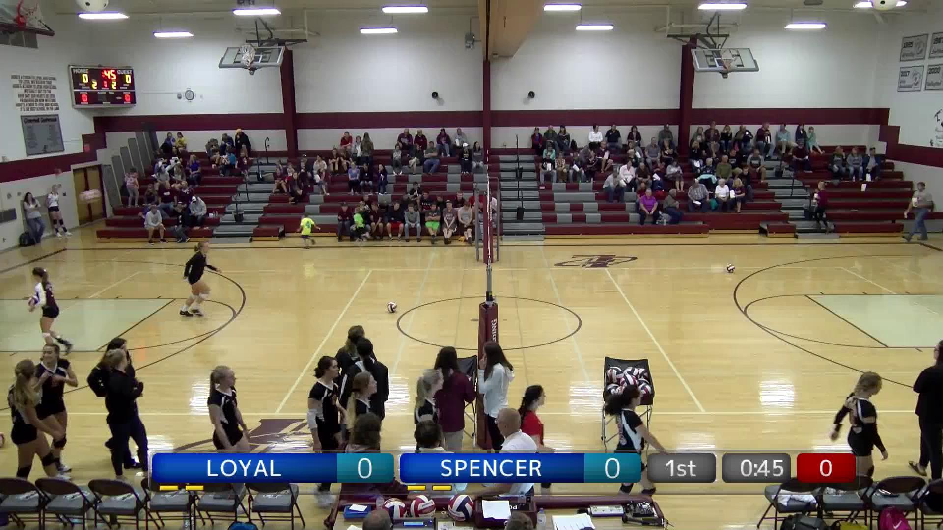 VB Spencer at Loyal
