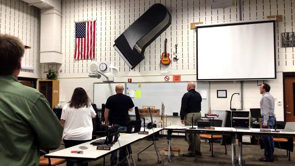 October School Board Meeting (Clip)