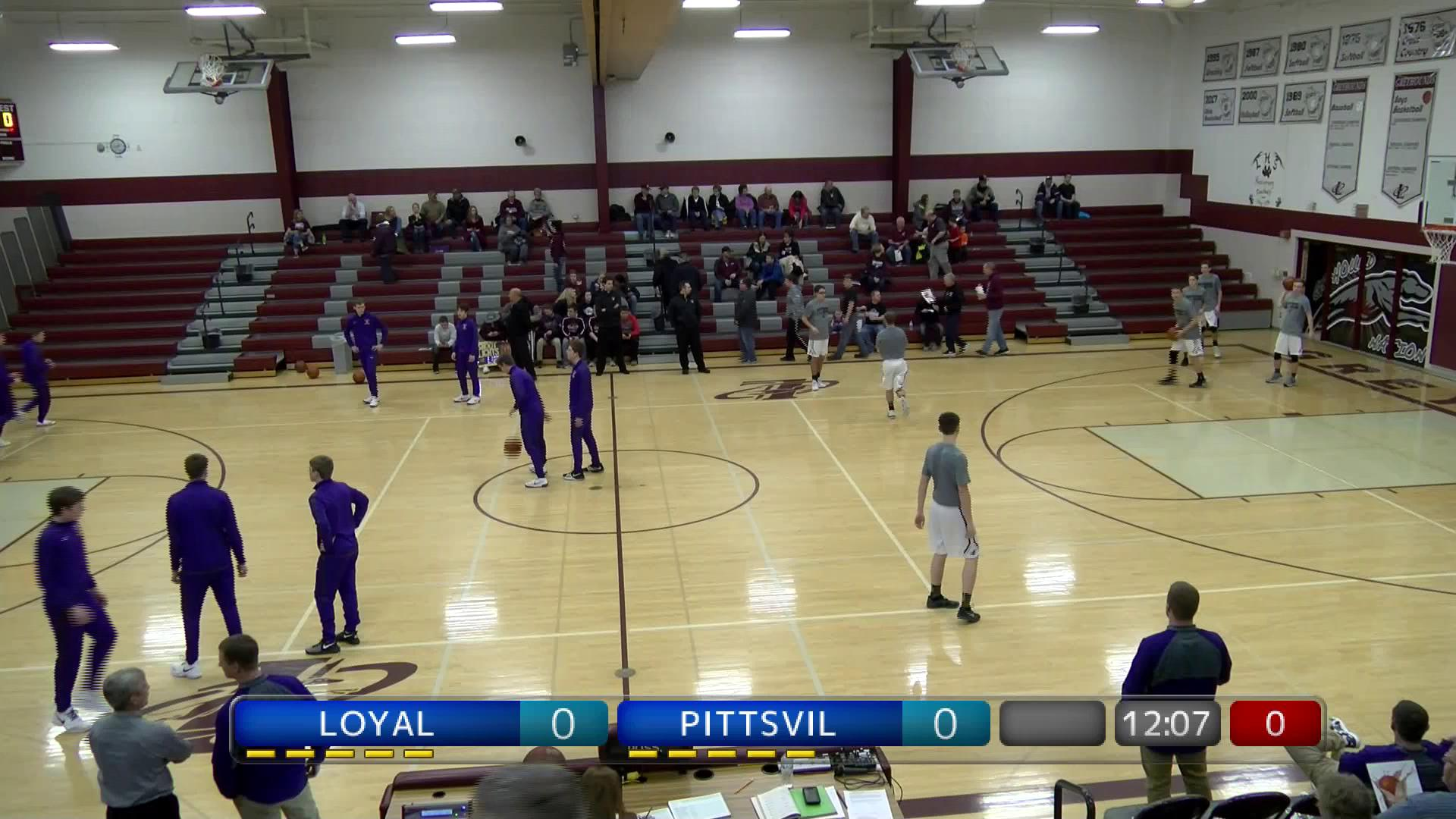WIAA BBB Pittsville at Loyal