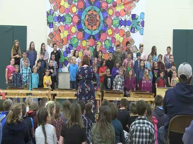 2018 4th Grade Music Program