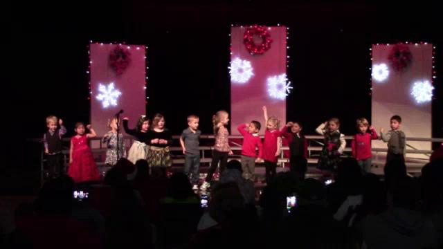 4K-1st Grade Morning Christmas concert