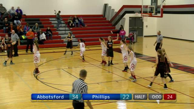 Abbotsford GBB vs Phillips 2nd Half