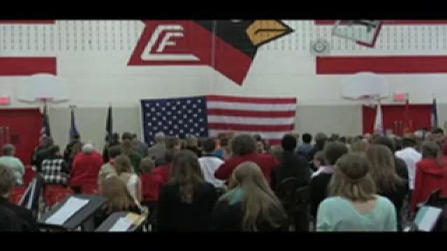 CFMS Veteran's Day Program 11/11/15