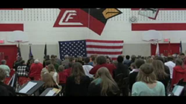 CFMS Veteran's Day Program 11/11/15