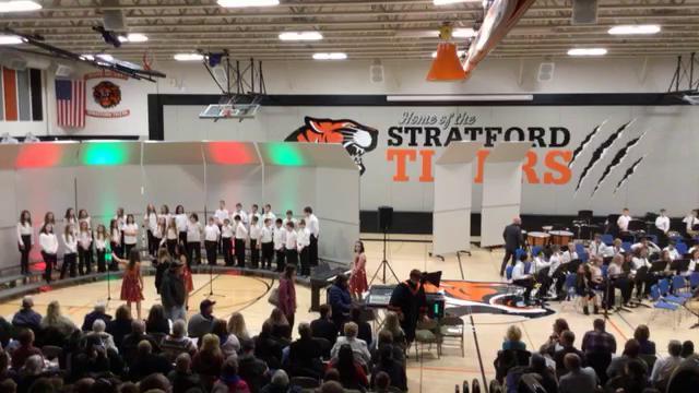 2019 MS Choir and Band Christmas program