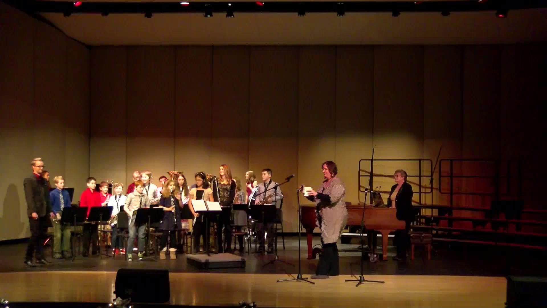 Spooner Middle School Winter Concert 2018