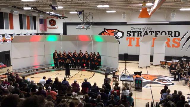 2019 HS Choir and Band Christmas Program