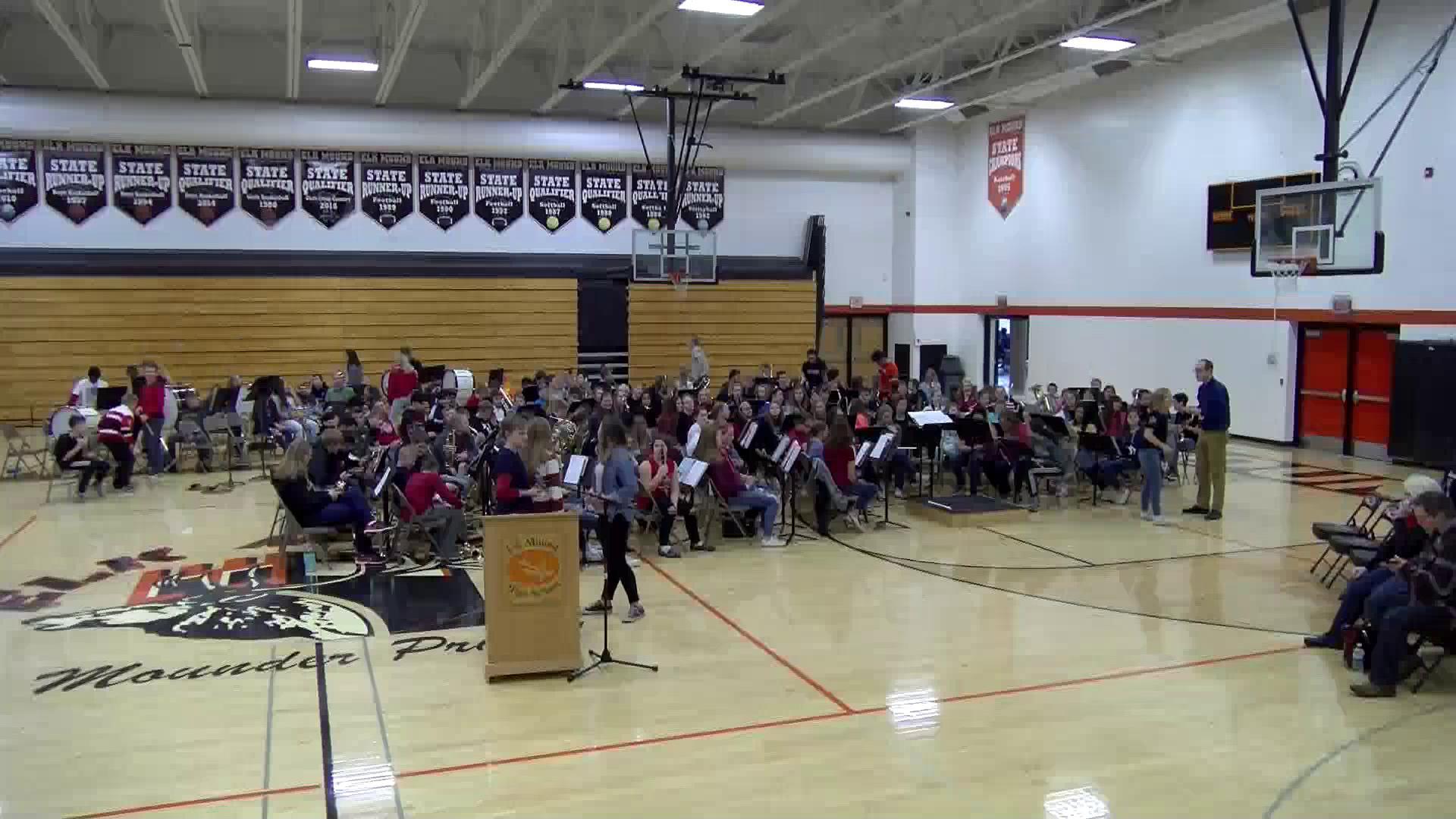 2018-2019 High School Veterans Day Program