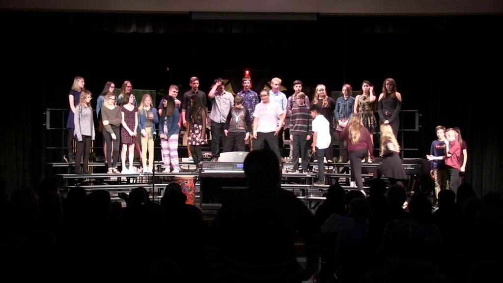 2019 HS/MS Band and Choir Concert