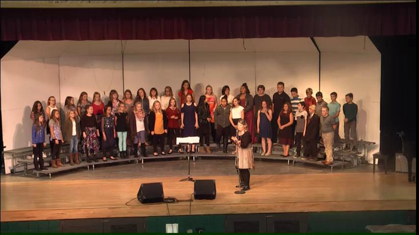 2018 Fall Choral Concert (Clip)