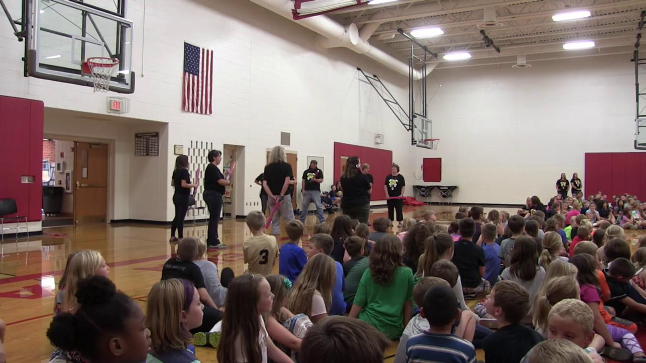 Hillcrest Energy Bus Kick Off with the Chippewa St...