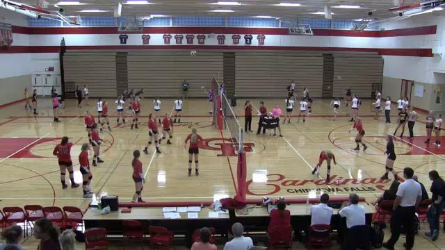 Chi Hi Varsity Volleyball vs River Falls 9.24.15