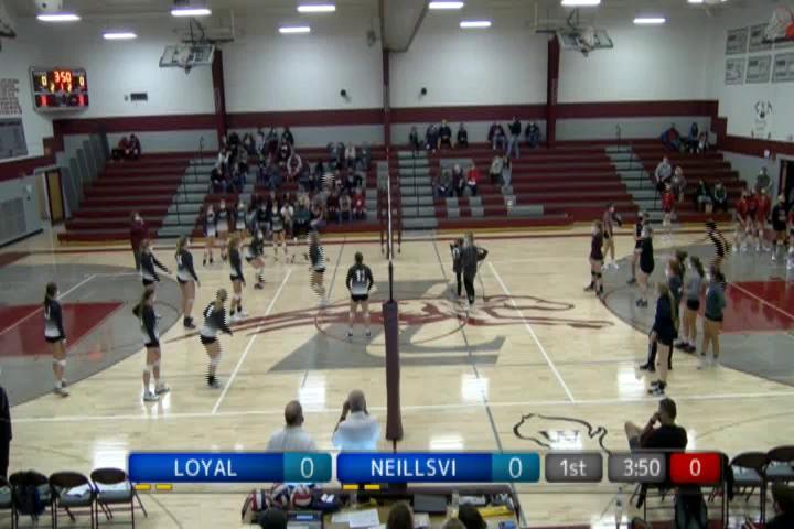 VB Neillsville at Loyal