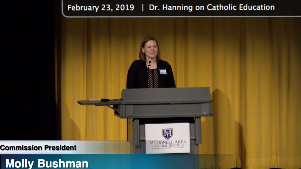 Dr. Hanning - The Purpose and Mission of Catholic ...