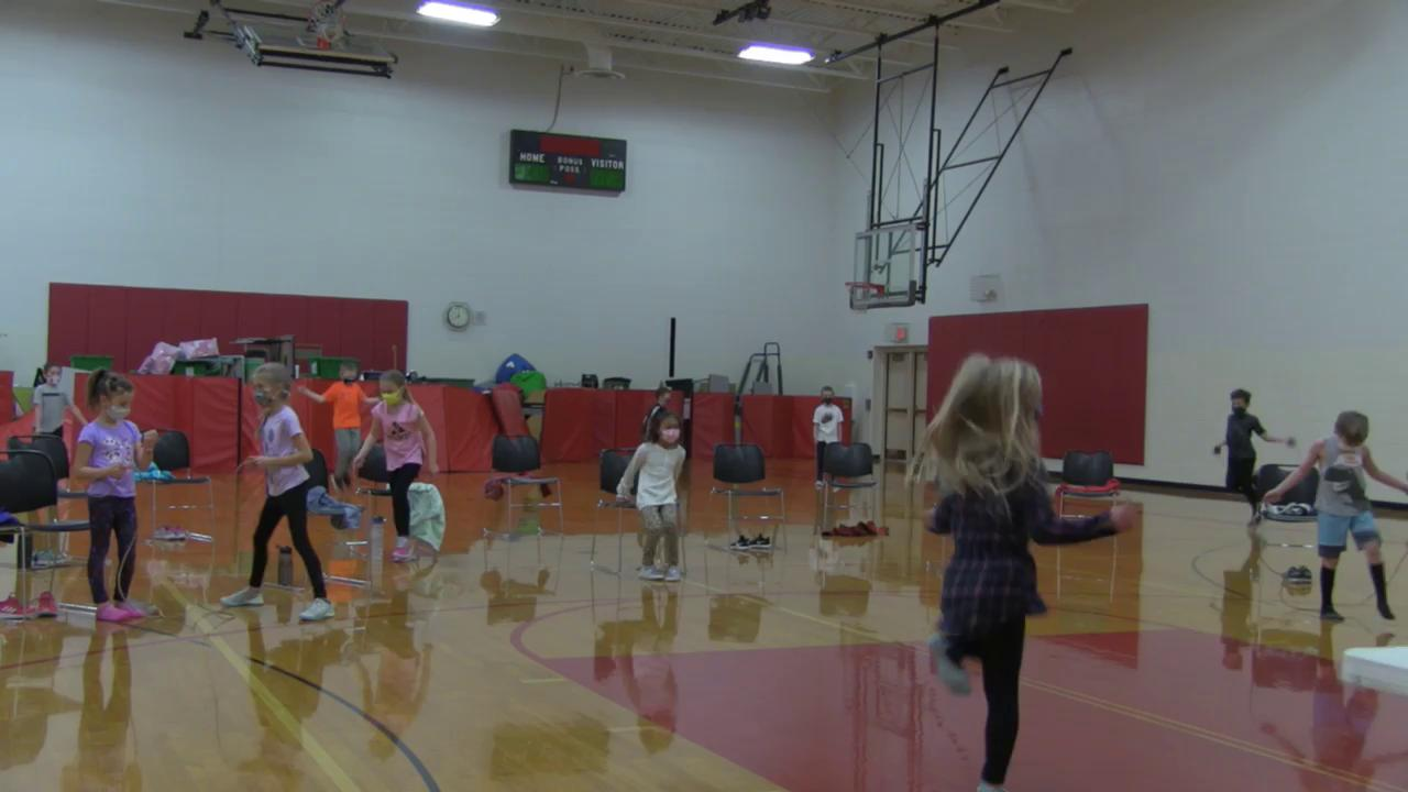 1st and 2nd Grade Jump Rope Contest 2021