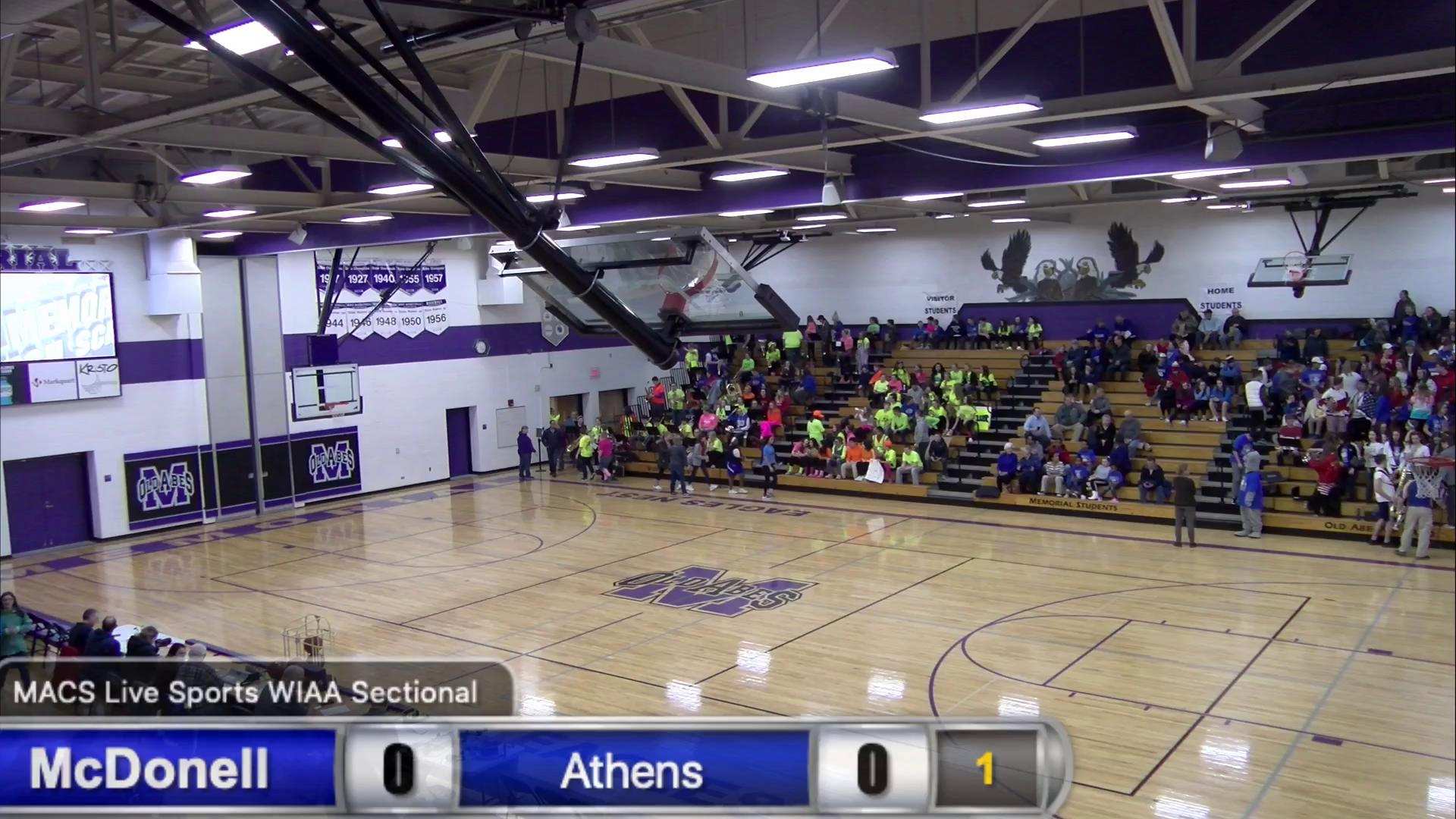 Division 5 Semifinal McDonell v Athens - 3/7/2019 ...