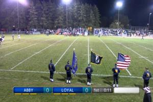 FB WIAA Playoff Level 2 Abbotsford at Loyal Octobe...