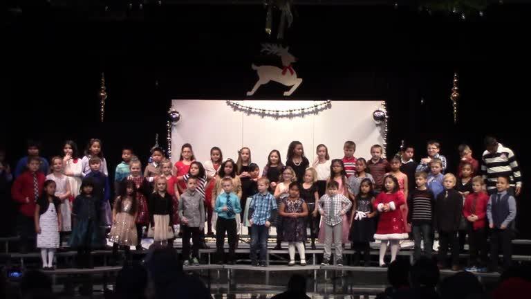 2-5 Grade Morning Christmas Concert 2016
