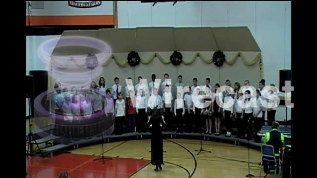 Stratford HS/MS Christmas program 2013